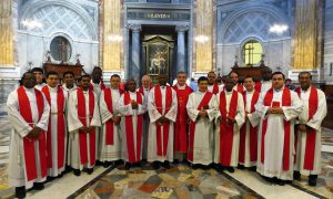 Celebrando a San Pietro