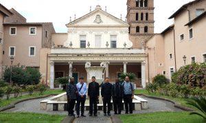 Visita a Santa Cecilia
